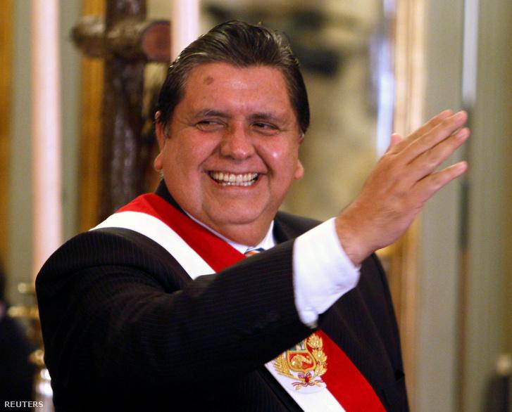 Alan García 2010-ben.