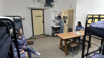 123 százalékos a börtönök átlagtelítettsége