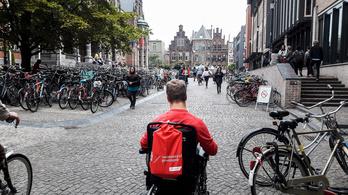 Itthon ufónak érezte magát, Hollandiáig menekült a kerekesszékes egyetemista