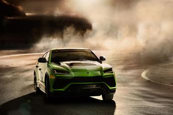 Versenyterepjárót épített a Lamborghini