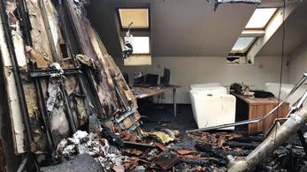 DK: Megsemmisült a tűzben a könyvelésünk