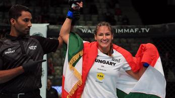 Magyarországnak is van már női MMA-világbajnoka