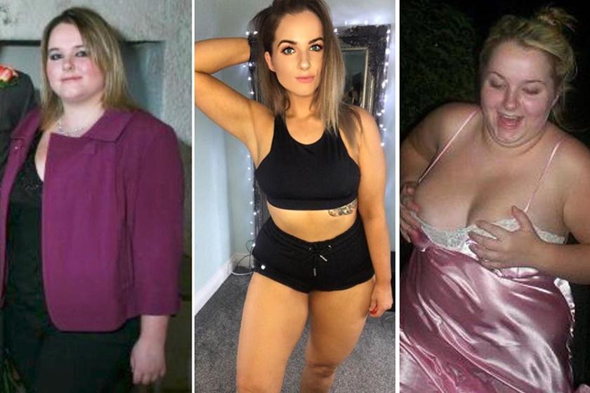 A fiatal nő 35 kilótól szabadult meg - Ezt ette, így mozgott pontosan