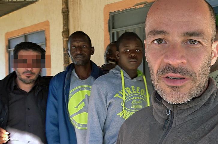 Földes András Líbiában 2018 májusában
