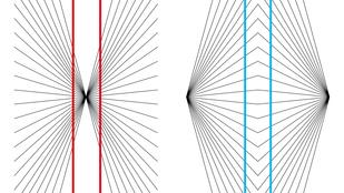 Egyenesnek vagy görbének látod a színes vonalakat?