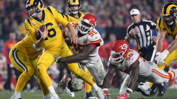 Bolond meccs az NFL-ben: mindkét csapat 50 pont fölé ment
