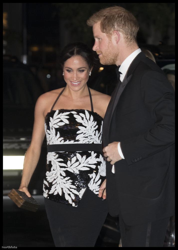 Meghan Markle és harry herceg november 19-én elmentek a Royal Variety Performance nevű zenei eseményre.