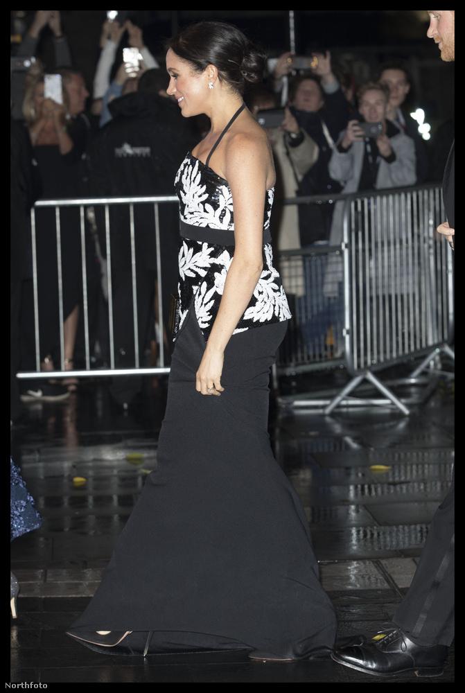 inkább megmutatjuk Meghan hercegné kikerekedő hasát.
