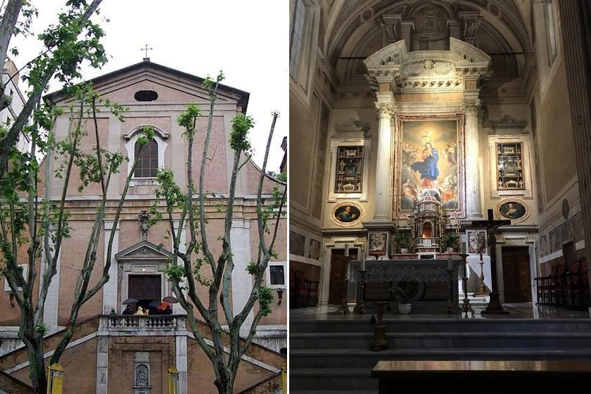 A katakomba a Santa Maria della Conzezione nevű templom alatt található. Egykor a területen a kapucinus rend temetője foglalt helyet, melyet a templom építésekor felszámoltak.