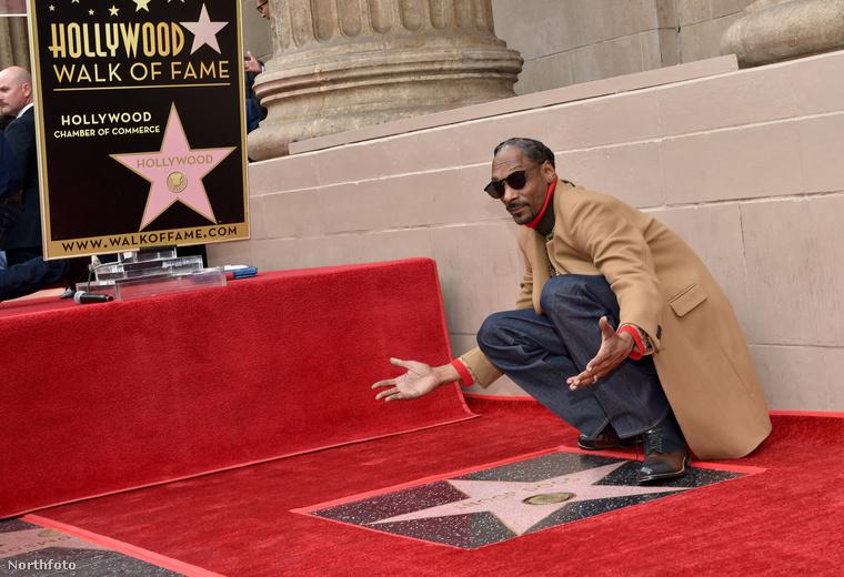 De Snoop Dogg köszönetnyilvánítása volt a legjobb.