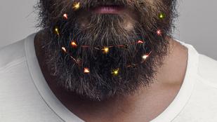 Díszítse fel a szakállát karácsonyra!