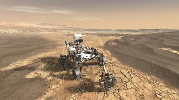Kráterben landol a NASA következő marsjárója