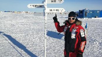 Mínusz 15 fok fogadta Rakonczayt az Antarktiszon