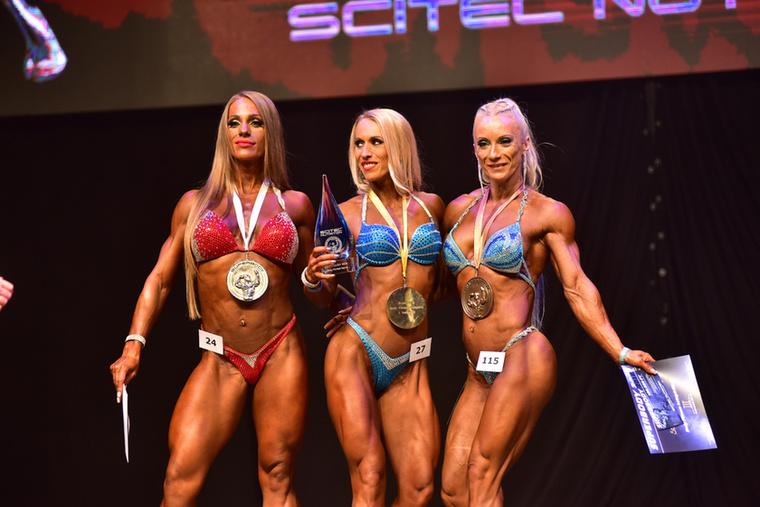 Ők a női Body Fitness kategória legjobbjai