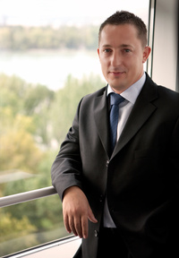 Vitéz Krisztián, az Erste Bank Kisvállalati Értékesítési vezetője