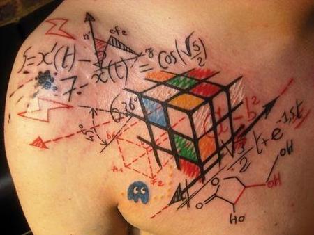 Rubiks-Cube-Formula-Tattoo