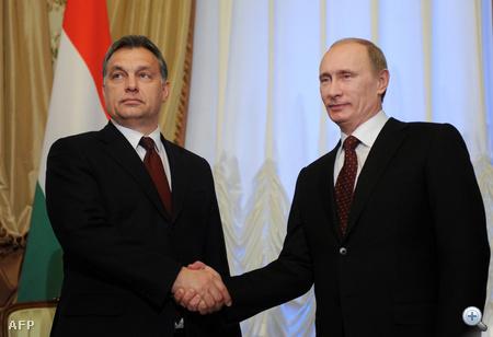 2010. november 30-án Orbán és Putyin Moszkvában egyeztettek.