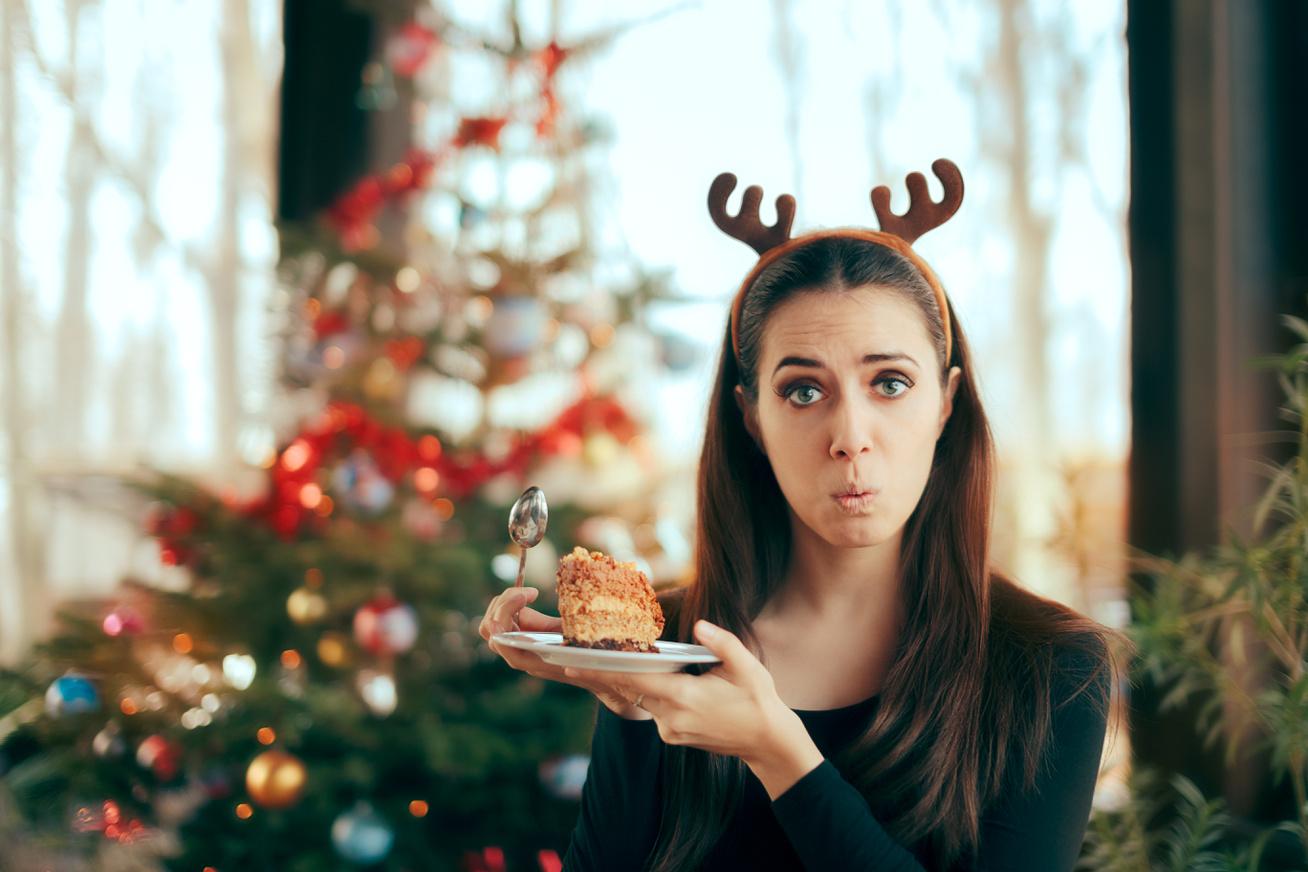 karácsony étel jóllakott