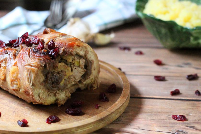 A gesztenye nem csak édesen jó, sósan is kerülhet húsok mellé - Gesztenyés almás pulyka
