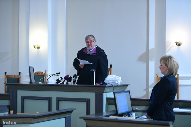 A bíró Dr. Morócz Emil