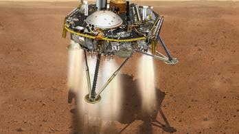 Hétfőn landol a Marson a robotgeológus űrszonda