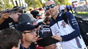 Kubica egy lépésre a teljes F1-visszatéréstől