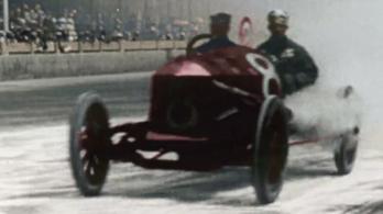 Wow: megnézheted színesben, milyen volt az 1911-es Indy 500