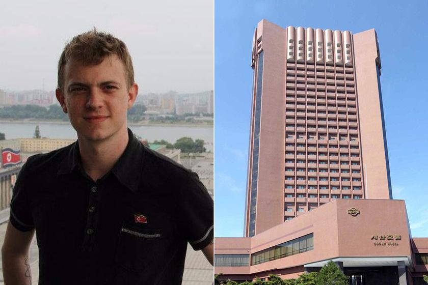 Travis Jeppesen és a Sosan Hotel.