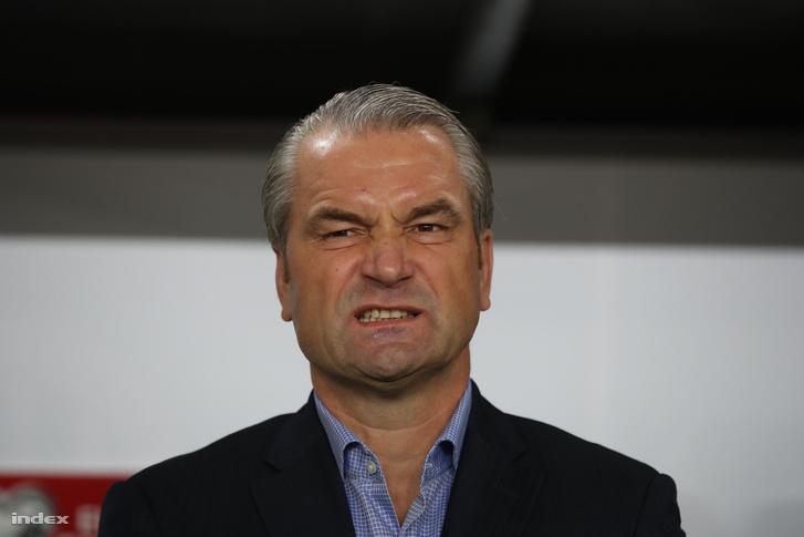 Bernd Storck a Magyarország - Svájc mérkőzésen, 2016. október 8-án