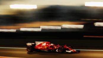 Nagy sikerélményre hajt a Ferrari Abu-Dzabiban