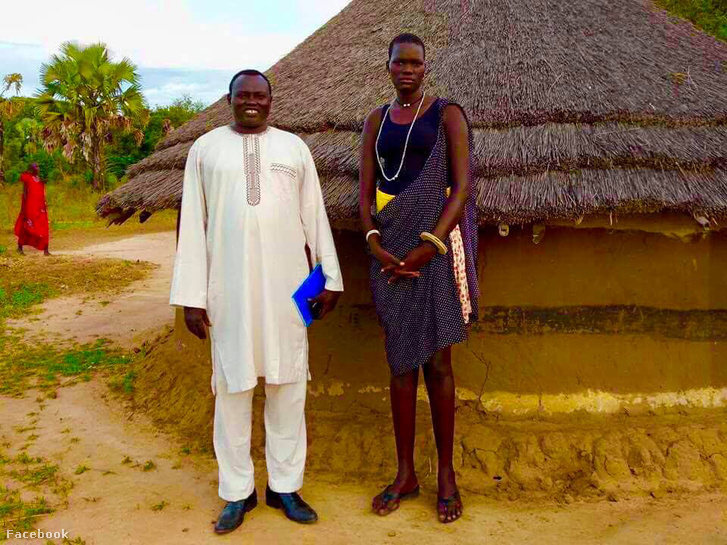 Elizabeth Nyalong Ngong, 17 éves elárverezett menyasszony Dél-Szudánban