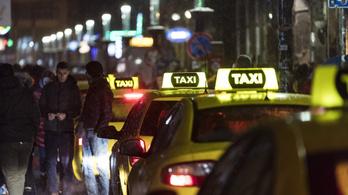 A bulinegyedben ellenőrzött taxisok felének nem volt engedélye