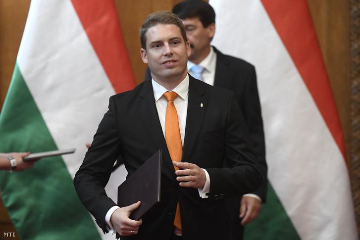 Weingartner Balázs, az Innovációs és Technológiai Minisztérium államtitkára