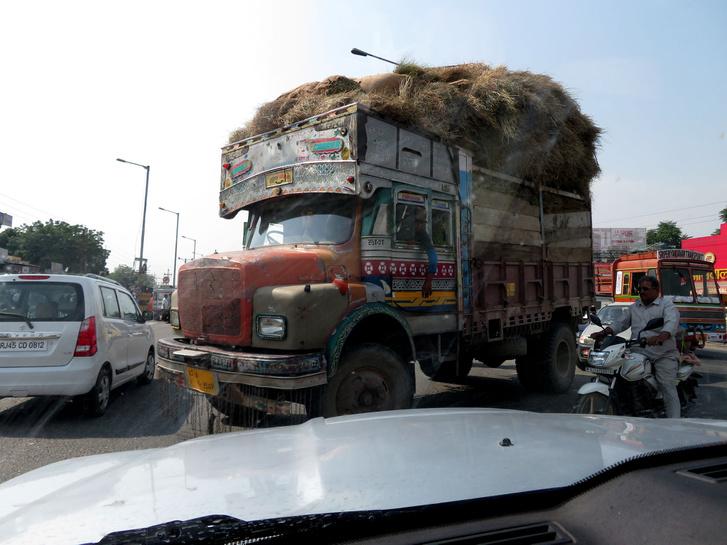 Ijesztő némelyik teherautó