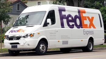 Kínai elektromos furgonokat vásárol a FedEx