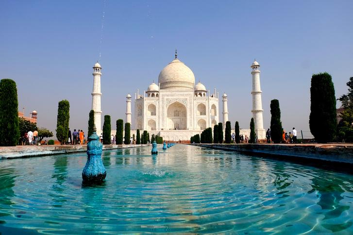A világ legszebb épülete: az agrai Taj Mahal