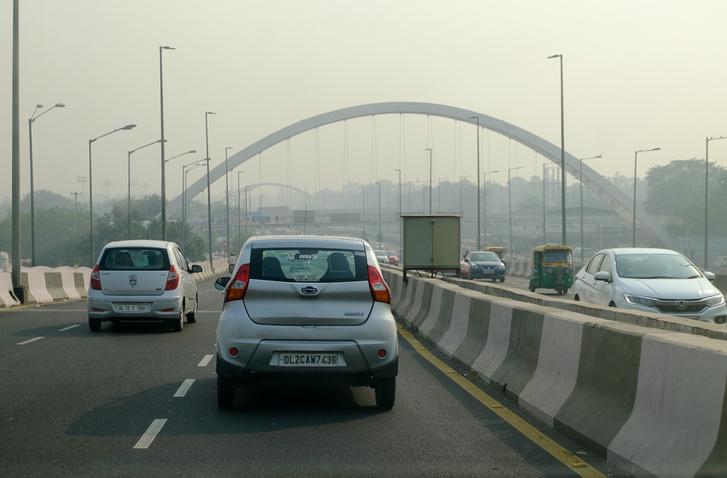 Már romlik a levegő Delhiben - égetik a tarlót. Ennél a Diwali után még helyenként ötször, átlagban háromszor rosszabbá vált a levegő