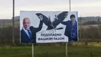 Ismét megjelentek a magyarellenes plakátok Kárpátalján