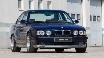 Teszt: BMW E34 M5 – 1994.