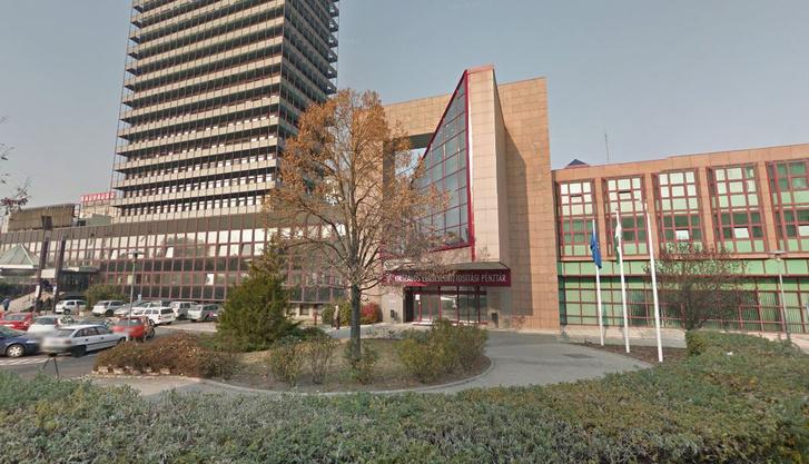 Egészségbiztosítási Alapkezelő épülete a Váci úton, Budapesten
