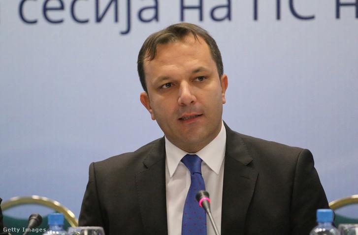 Oliver Szpaszovszki, Macedónia belügyminisztere