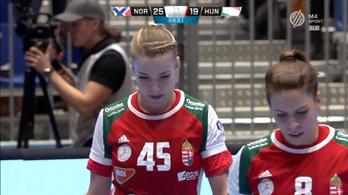 Hat góllal kaptak ki a női kézisek az Európa-bajnoktól