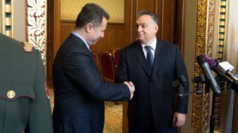Orbán a Gruevszki-ügyről: Az ember tisztességesen bánik a szövetségeseivel