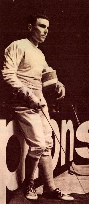 dr. Kamuti Jenő. Forrás: Képes Sport 1965. augusztus 24. / Acranum adatbázis