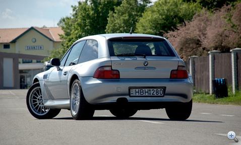 A Z4 coupe ősének bombasztikus segge, imádom