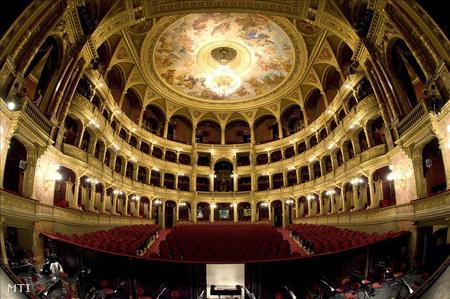 A Magyar Állami Operaház nézőtere (Fotó: Kollányi Péter)