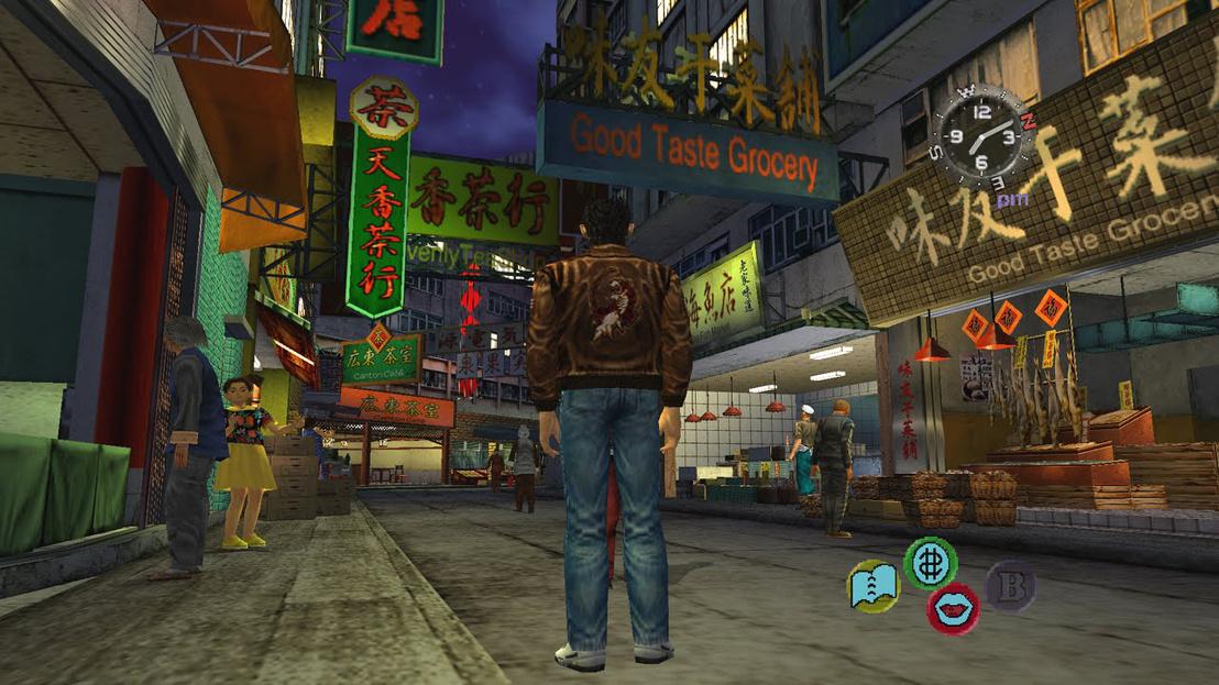 Screenshot a Shenmue 2-ből