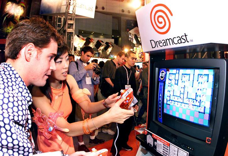 A Dreamcast bemutatkozása a Tokyo Game Show-n