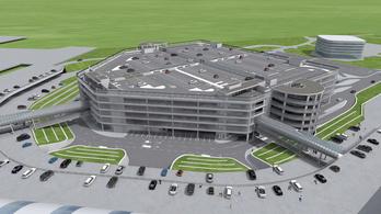 Végre! Megkezdődött a parkolóház építése a Liszt Ferenc-repülőtéren