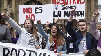 Spanyolországban csak visszaélésnek számít, ha megerőszakolnak egy részeg nőt